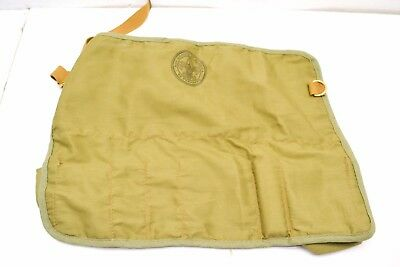 Vintage Boy Scouts of America  Canvas Toiletry Carrying Case Bag