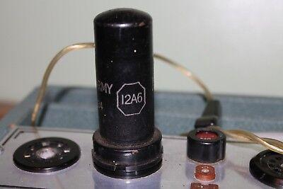 VALVE,12A6 (VT-134) IN GOOD. CONDITION,TESTED O/K,USED,MAKER KEN-RAD.