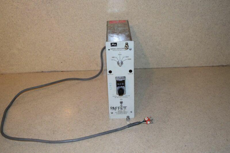 BERTAN ASSOCIATES MODEL 313 DC POWER SUPPLY NIM BIN  (TP827)