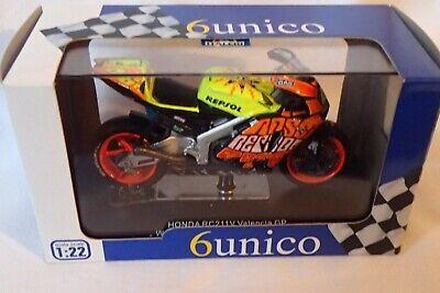PROTAR 6Unico MOTO HONDA RC 211V Valencia GP WC 2003 VALENTINO ROSSI 1/22