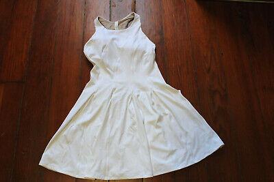 NWT Lululemon Court Crush Tennis Dress Built in Bra White 8 $128 FREE SHIP