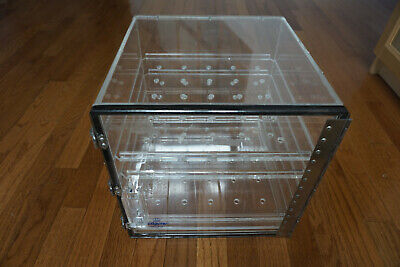 Nalgene  Acrylic Box Dry Product Storage Dessicator Dryerite Cabinet 12x12 Qfy