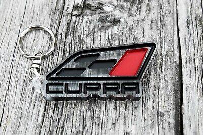 cupra keychain car auto tuning keyring Custom badge gift Llavero porta-chaves