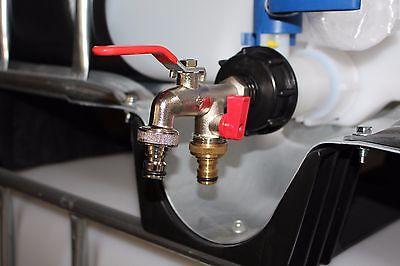 IBC Adapter Regenwassertank, Anschluss - Zubehör 1000 Liter IBC Wassertank #77 online kaufen