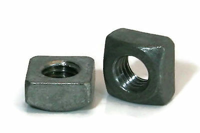 """Square Nuts Hot Dipped Galvanized Grade 2 - 3/8""""-16 UNC - QTY 50"""