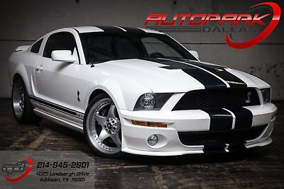 2007 White Shelby GT500!
