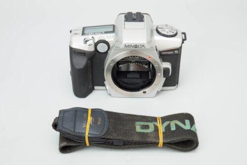Minolta Dynax 5 35mm Slr Film Camera, Sony Minolta Alpha Mount Dynax5 Auto-focus