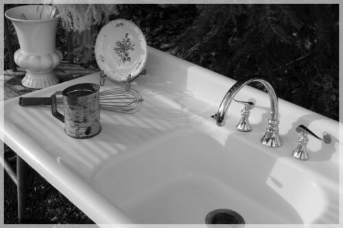 Limited Free Shipping! 1941 Cast Iron Farmhouse Vintage Antique Farm Sink 60inch
