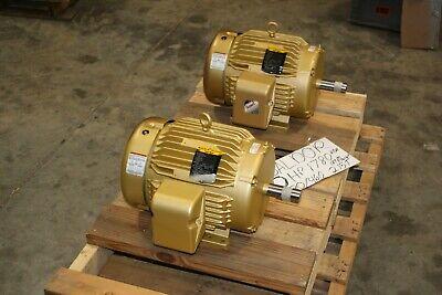 New Baldor 10 Hp 1760 Rpm Electric Motor 215t Frame 230-460v 3 P Super-e