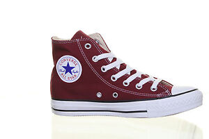 Converse-M9613-All-Star-Chuck-Taylor-Plimsolls-Hi-Top-Unisex-Maroon-Canvas