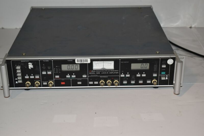 <RF> EG&G Princeton Applied Research 5209 Lock-In Amplifier  (VH7)