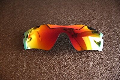 PolarLenz POLARIZED Red Fire Iridium Replacement Lens for-Oakley Radar Path