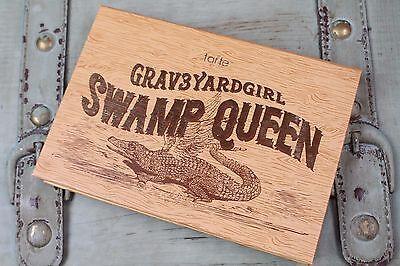 Brand new ~ Swamp Queen Tarte Graveyard Girl Grav3YardGirl Eye and Cheek Palette