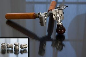 410GA wad cutter pellet bullet mold AS (Lyman style)