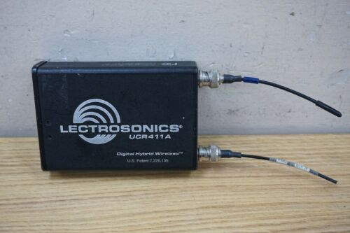 LECTROSONICS UCR 411A UCR411A WIRELESS MICROPHONE RECEIVER BLOCK 26 (665.6 - 691