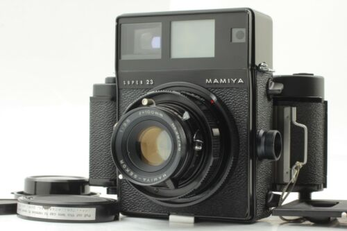 [Exc+3] Mamiya Press Super 23 + Sekor 100mm f/3.5 + 6x9 Roll Filmback From JAPAN