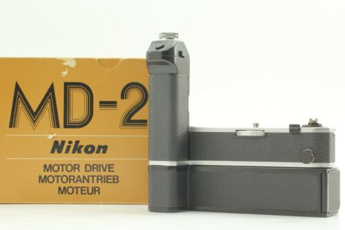 【TOP MINT】 Nikon MD-2 Motor Drive + MB-1 Battery Pack for Nikon F2 From JAPAN