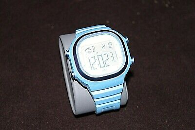 ADIDAS ADH2108 LIGHT BLUE SEOUL MENS RESIN STRAP SPORT CHRONO VERY RARE SOLD OUT