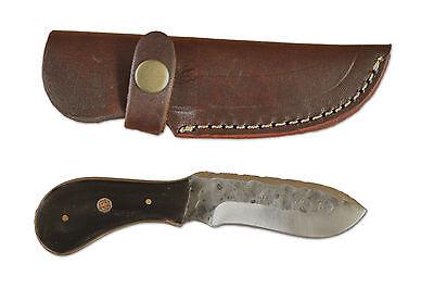 Mittelalter Messer 15,5 cm handgeschmiedet mit Lederscheide