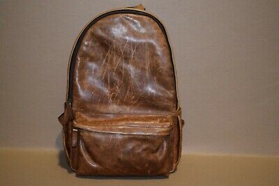 ONA Clifton Leather Backpack-Backpack-Office Sample-Free Shipping-Returns