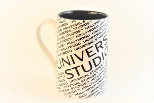 2013 Hollywood Universal Studios Logo Mug Coffee Cup. Embossed Rare Hard To Find