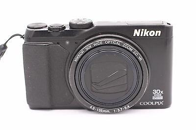 Nikon COOLPIX S9900 16.0 MP Digital Camera - Black, usado segunda mano  Embacar hacia Mexico