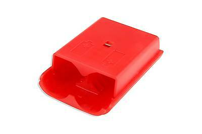 Hellfire Trading Xbox 360 Wireless Controller Red Battery Back Cover Pack Shell
