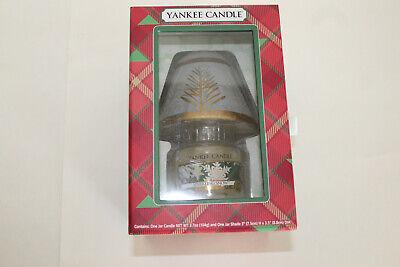 Yankee Candle - Jar Candle w/Shade & Candle Box Set - Sparkling Snow - NIB