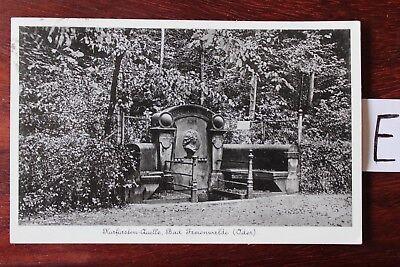 Postkarte Ansichtskarte Brandenburg Kurfürsten Quelle Bad Freienwalde (Oder)