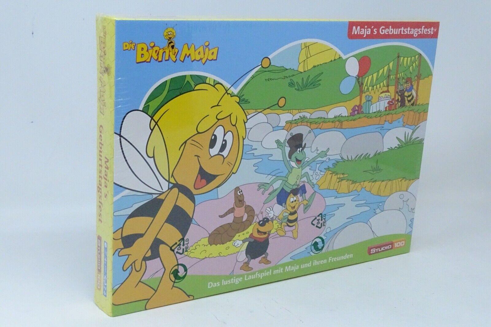 Die Biene Maja Maja's Geburtstagsfest Das lustige Laufspiel ab 4 J SPIEL NEU OVP