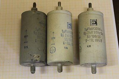 DDR RFT Kondensator 3 phasig 400V 3 x 66,6 µF 10 kvar