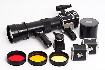 ULTRA RARE Hasselblad 1000F HK-1 Swedish Military Fotosnaper Outfit