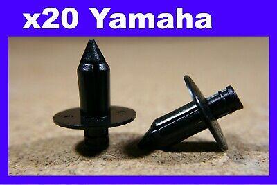 FOR <em>YAMAHA</em> 20 MOTORCYCLE MOTOR BIKE FAIRING PANELS TRIM RIVET CLIPS 7M