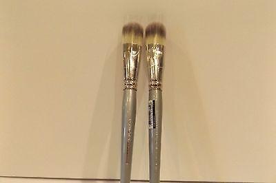 Sephora Professionnel Airbrush Precision Foundation Brush   56 Set Of 2 Brushes
