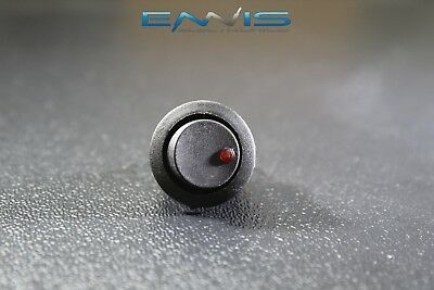 Round On Off Rocker Switch Mini Toggle Red Led 34 Mount Hole Ec-1213rd