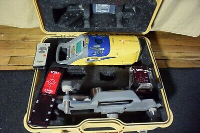 Trimble Model Dg511 Red Beam Self Leveling Pipe Laser With Trivet Stand 2