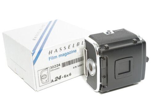 Hasselblad A24 film holder (late version ) in original box