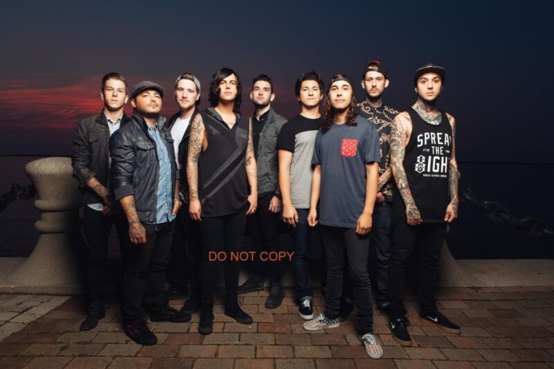 """Pierce the Veil & Sleeping with Sirens Reprint 12x18"""" Poster Photo #1 RP"""