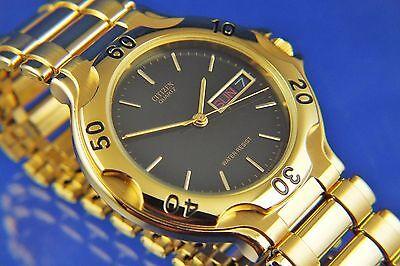 Vintage Citizen Retro quartz Bracelet Watch Divers Style NOS 1980s New Old Stock
