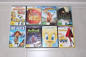 Kids DVD's x 8 Maryland Newcastle Area Preview