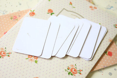 Grass White Inclusions Business Cards ATC craft DIY wedding name place cards - Diy Place Cards