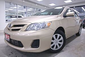 2013 Toyota Corolla  CE ONE OWNER, NON SMOKER, FULL SERVICE HIST