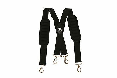 Gatorback B606 Suspenders For Tool Belts  Carpenter  Electrician  Contractor