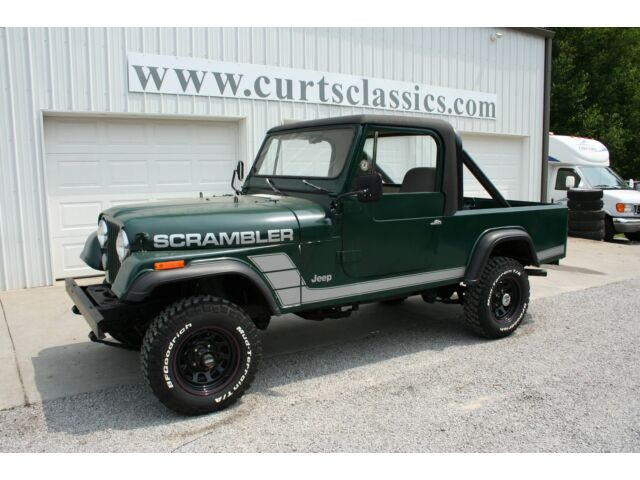 1982 jeep scrambler used jeep other for sale in jonesboro illinois. Black Bedroom Furniture Sets. Home Design Ideas