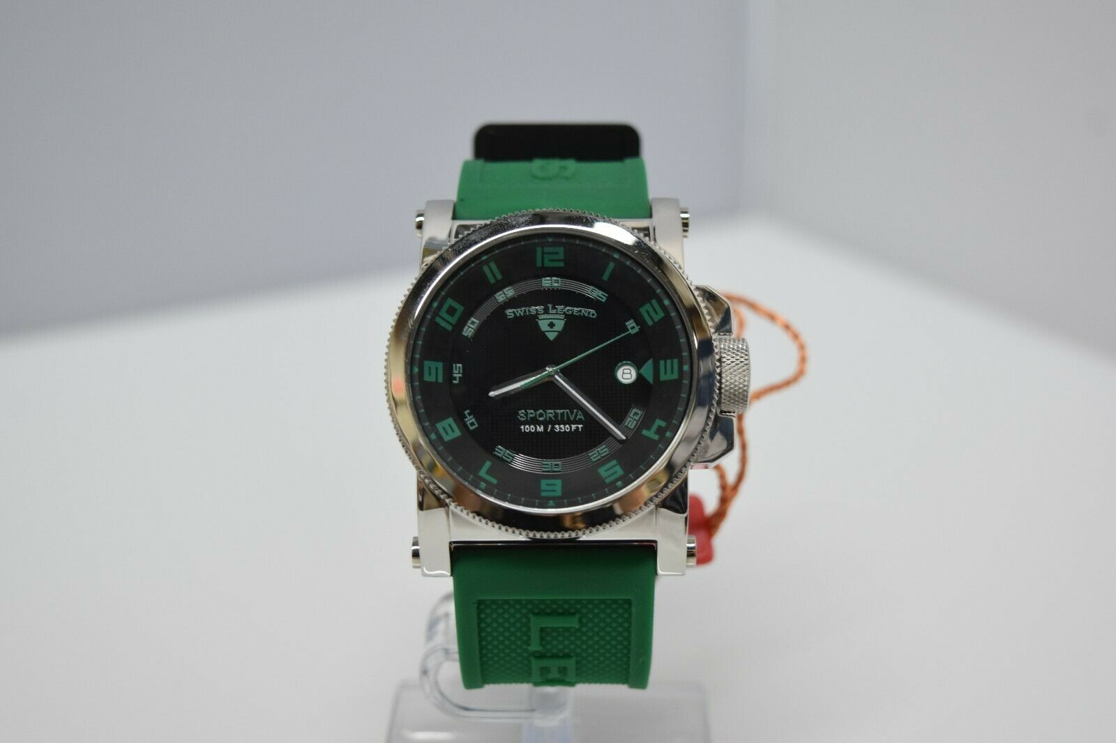Swiss Legend Sportiva 45mm SL-40030 Watch Green/Black