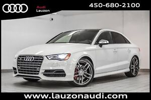 2016 Audi S3 2.0T TECHNIK NAV LED SUSP.ADAPT