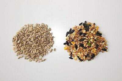 Wild bird Bundle Deal all Year round feeding, Supreme seed & sunflower hearts