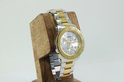VERSACE VERSUS Men's 2-Tone Gold & Silver S/Steel Multifunction Watch SOH01 0015