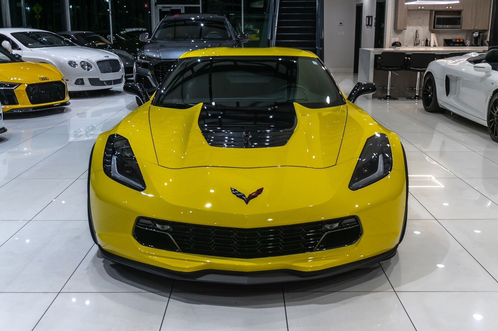 2016 Yellow Chevrolet Corvette Coupe 2LZ   C7 Corvette Photo 8
