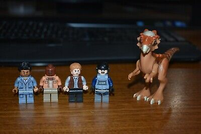 LEGO MiniFigure Lot Jurassic World Barry 75920 ACU Trooper Stygimoloch 75927
